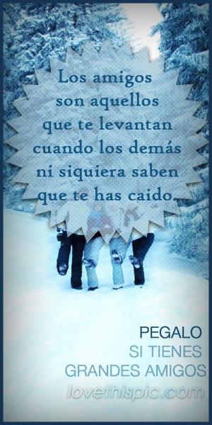 Amigos Amor Spanish Quotes