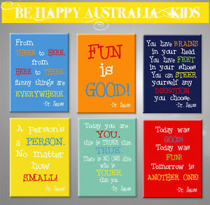 Dr-Seuss-QUOTES-PRINT-STRETCHED-CANVAS-ea-print-is-30cmx40cmx2cm-SOLD ...