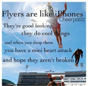 Cheer Quotes For Flyers Cheer leading quotes