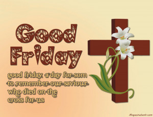 Happy Good Friday Images With Quotes And Sayings 2014
