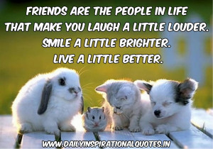 ... inspirational quotes about friendship cute and short friend quotes