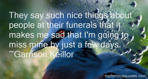 Top Quotes About Funeral Day