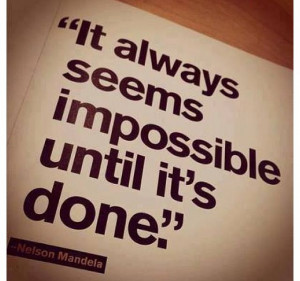 Nothings Impossible!! Just Believe