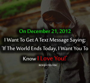 RICK Quotes - Love Quotes: I Love You Quotes   2012
