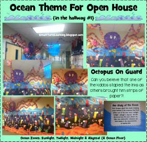 We Went TOTALLY Overboard for our Ocean Themed Open House!