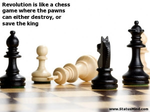 Pawn Chess Quote