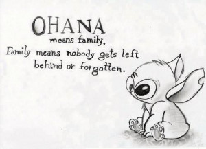 """... remember everyone who leaves…"""" — What Lilo said to Stitch"""