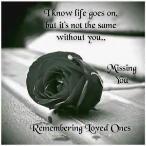 remembering loved one