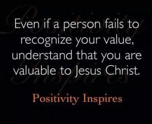 Value thru Christ