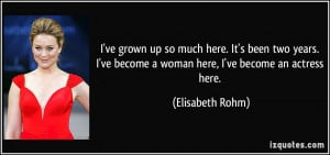Grown Women Quotes