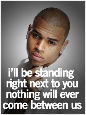 Handsome chris brown quotes and sayings about love best