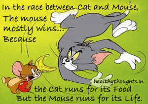 Tom and Jerry Motivational Quotes