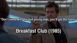 80s movie quotes breakfast club 1985