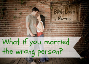 What if I married the wrong man?