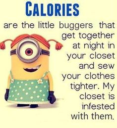 ... more minions laughing quotes funnies things calories so true humor