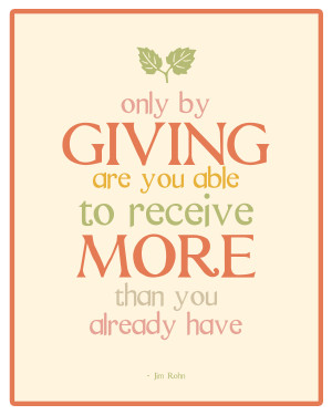 Christmas Quotes About Giving And Receiving ~ Famous quotes about ...