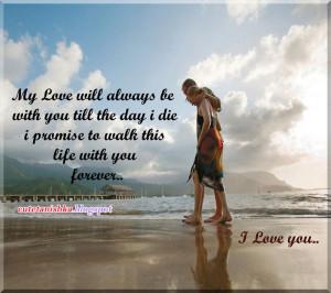 Love You Forever Poems I Promise I love you forever poems i
