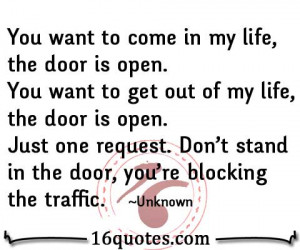 in my life quote