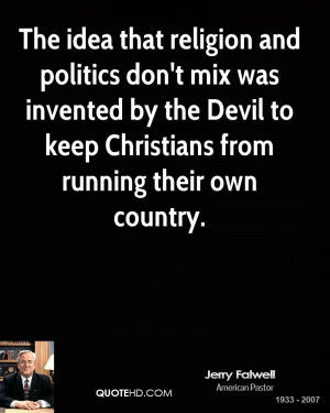 Jerry Falwell Religion Quotes