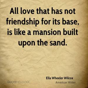 Ella Wheeler Wilcox Quotes