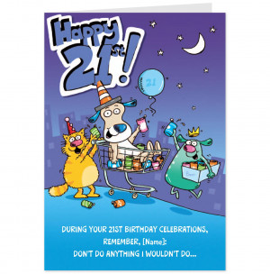 Funny 21st Birthday Pictures Gallery
