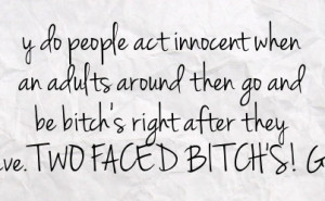 Bitchy Facebook Status On Paper Background