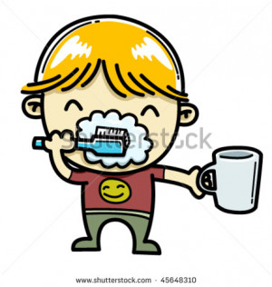 Brush Your Teeth Cartoon and check another quotes beside these Brush ...