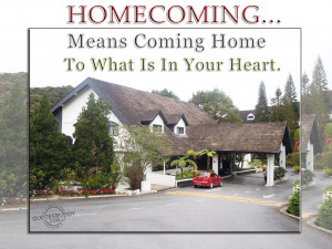 Homecoming Graphics Homecoming means coming home