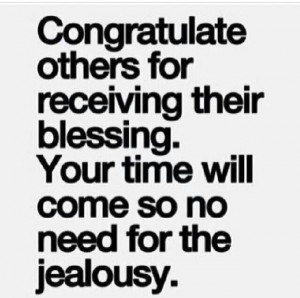 Don't be a jealous loser.