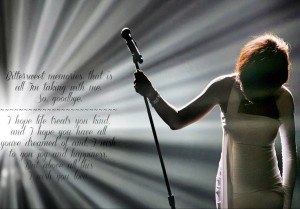 Whitney Houston lyrics (RIP)