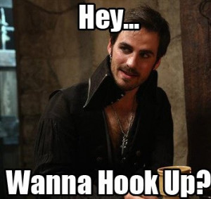 Once Upon A Time Captain Hook Quotes Captain Hook Once Upon A Time