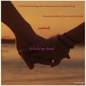 Best Friends Holding Hands...