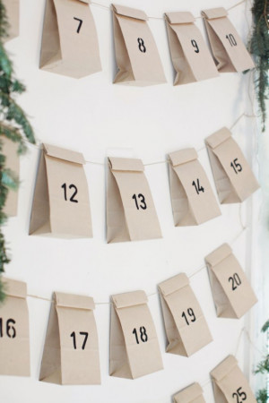 EASY Christmas diy - advent I definitely don't want my kids to have ...