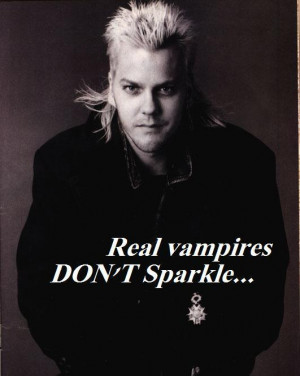 The Lost Boys Movie Real vampires DON'T Sparkle...