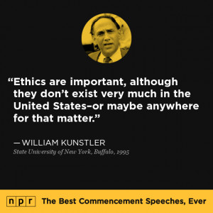 The Best Commencement Speeches by Lawyers