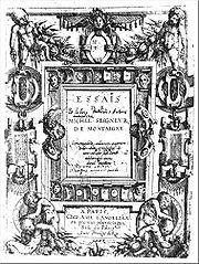 Essays (Montaigne): Wikis