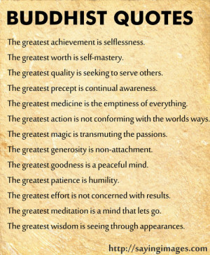 Buddhist Sayings | SayingImages.com-Best Images With Words From ...
