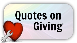 Quotes on Giving