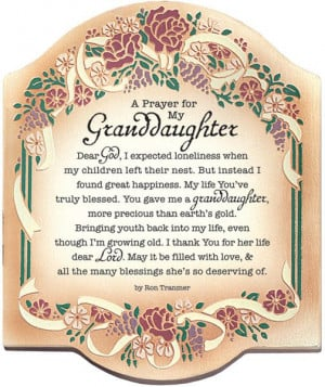 ... Quotes, Simple Prayer, Christian Plaque, Anistynn Ideas, Granddaughter
