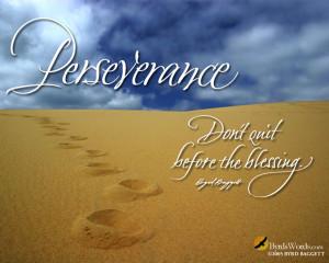 Perseverance Wallpaper