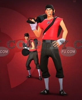 Related Pictures scout from team fortress 2 minecraft skin