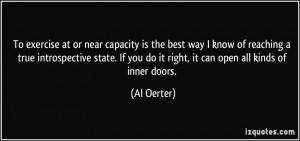 More Al Oerter Quotes