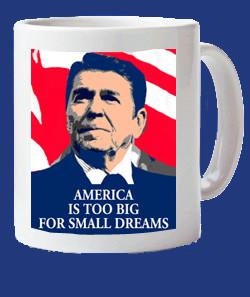 Ronald Reagan mug, Ronald Reagan mugs Ronald Reagan quote