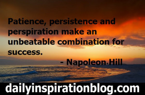 Napoleon Hill quotes persistence quotes