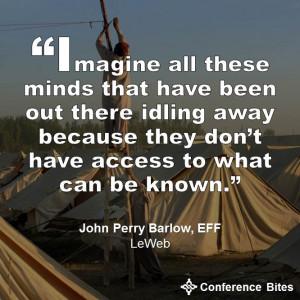 John Perry Barlow - LeWeb