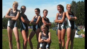 Funny Girls Cross Country