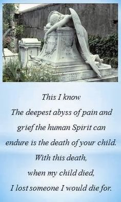 angel of grief from bog posting after my son died why i dropped out of ...