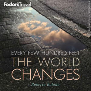 Travel Quote of the Week: On the Ever-changing World
