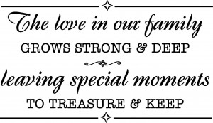 Family Sayings 2/ the love in our family