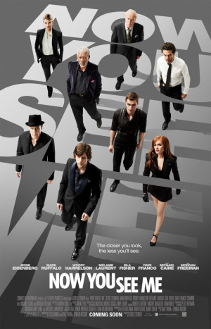 ADVANCE MOVIE REVIEW: Now You See Me